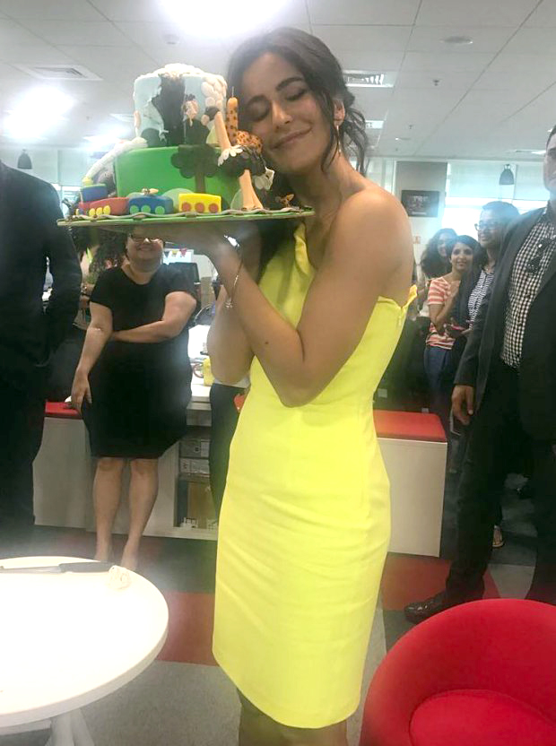 Check out Katrina Kaif begins her birthday celebrations in advance with a special birthday cake