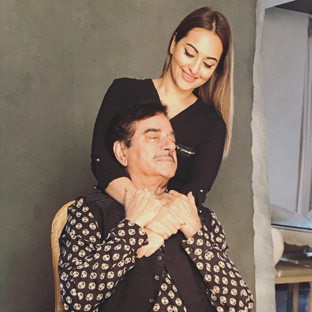 Sonakshi Sinha supports 'development of girl child' with support from father Shatrughan Sinha