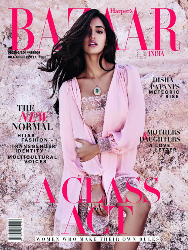 Disha Patani is exuding hotness in the cover for Harper's Bazaar India
