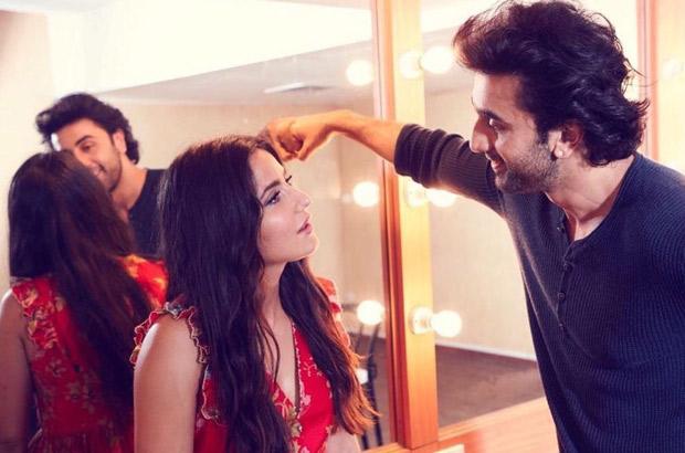 Friendly Exes Katrina Kaif and Ranbir Kapoor