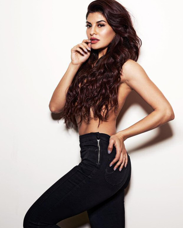 HOLY SMOKES Jacqueline Fernandez goes topless in her latest photoshoot
