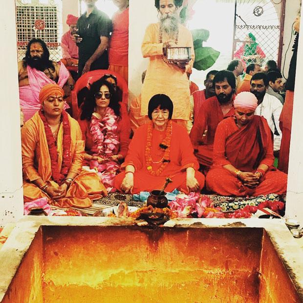 Manisha Koirala was in Haridwar for Guru Purnima and this is what she did-2