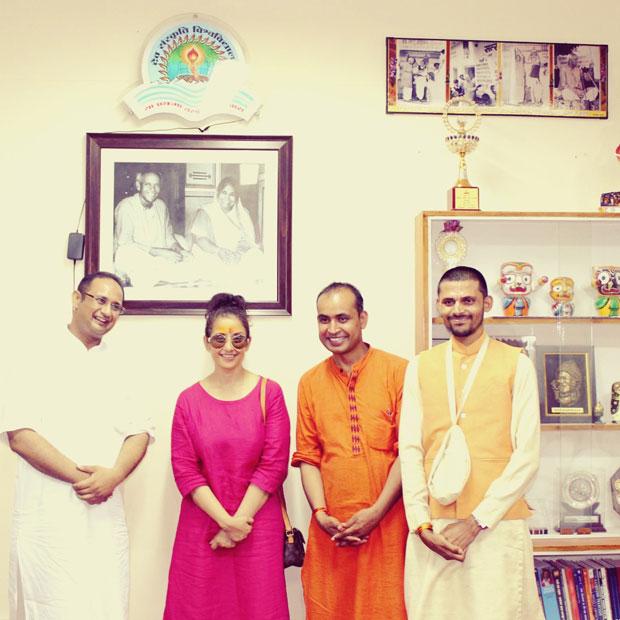 Manisha Koirala was in Haridwar for Guru Purnima and this is what she did-5