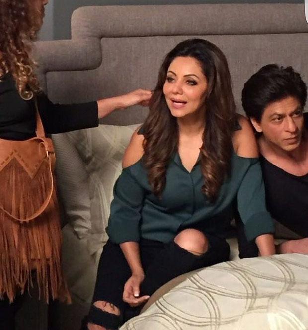 Shah Rukh Khan and his wife Gauri Khan shoot for D'Decor-2