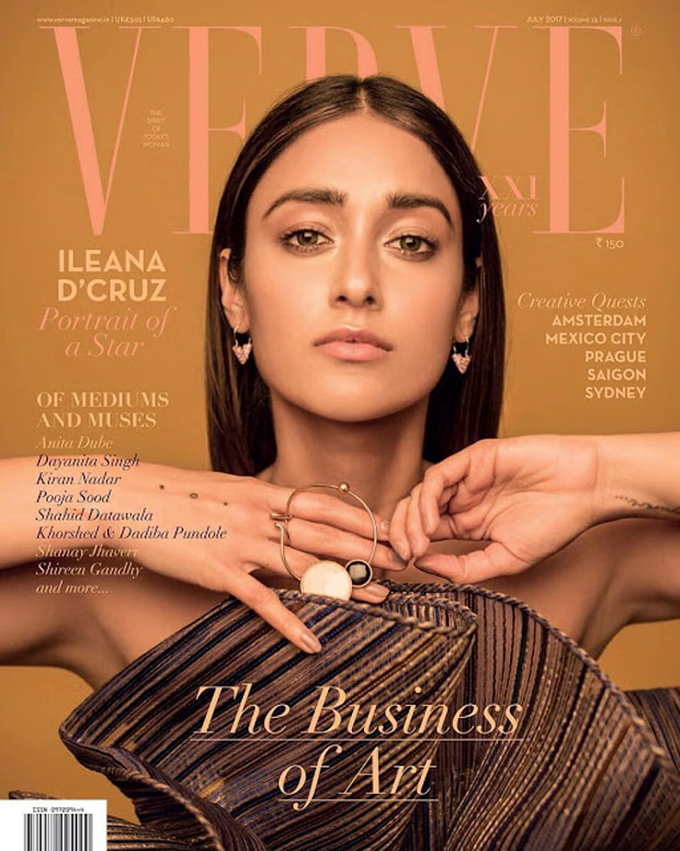 WOW! Ileana D'cruz is glowing in dewy sun-kissed look on the cover of Verve