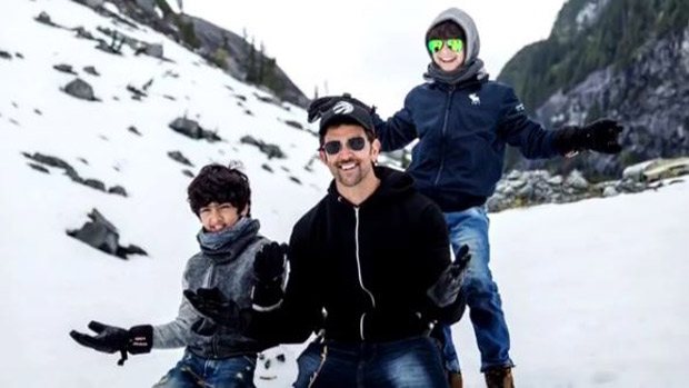 Watch Hrithik Roshan's tutorial on how to build a snowman!