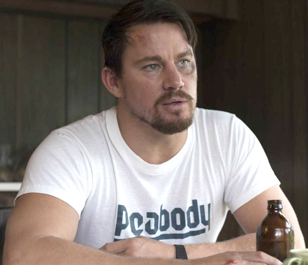 """""""I drank a lot of beers and ate a lot of pizza"""" - Channing Tatum on prepping for Logan Lucky (2)"""