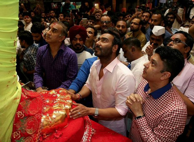 Ajay Devgn and Milan Luthria 1