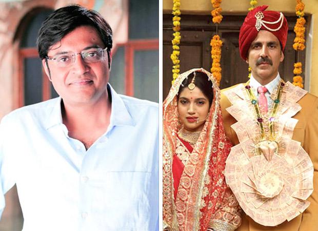 CBFC removes Arnab Goswami's reference from Toilet Ek Prem Katha, Arnab surprised