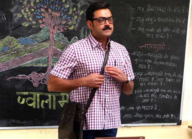 Check out Bobby Deol's quirky look during his 'Shuddh Hindi' workshop