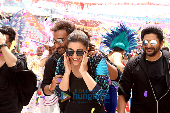 Check out Golmaal Again cast shoots title track of the film in Hyderabad (4)