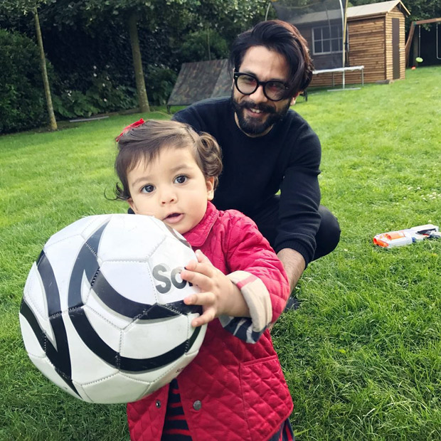 Check out: It's playtime for father-daughter duo Shahid Kapoor- Misha Kapoor and it's adorable