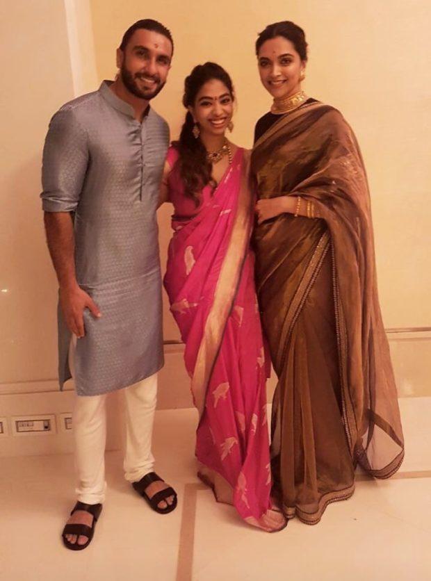 Deepika Padukone and Ranveer Singh look-1