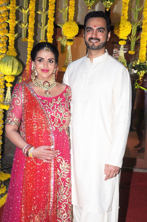 Esha Deol re-ties the knot with husband Bharat Takhtani at her baby shower-2