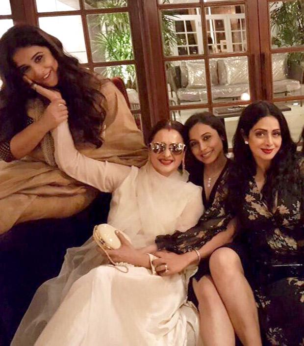 INSIDE PHOTOS Aishwarya Rai Bachchan, Vidya Balan, Rekha, Rani Mukerji, Shabana Azmi come to together for Sridevi's birthday celebrations! (3)
