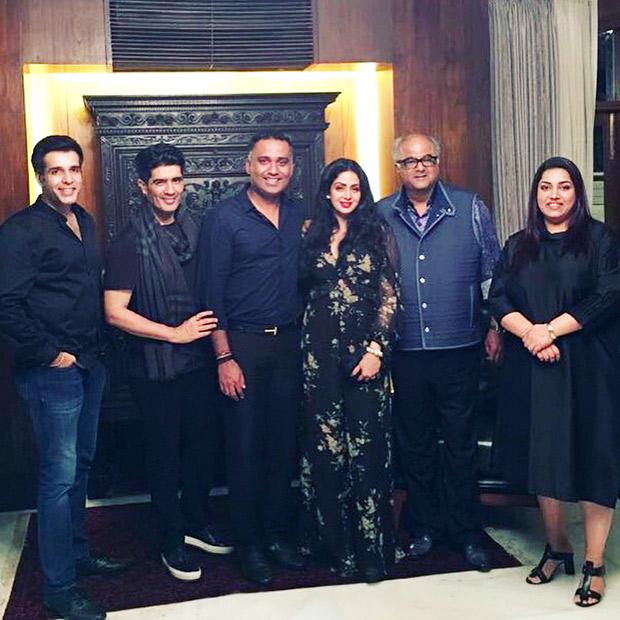 INSIDE PHOTOS Aishwarya Rai Bachchan, Vidya Balan, Rekha, Rani Mukerji, Shabana Azmi come to together for Sridevi's birthday celebrations! (6)