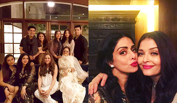 INSIDE PHOTOS Aishwarya Rai Bachchan, Vidya Balan, Rekha, Rani Mukerji, Shabana Azmi come to together for Sridevi's birthday celebrations! (7)