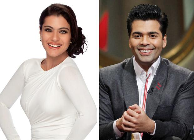 Kajol and Karan Johar