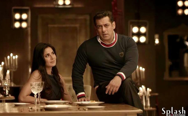 WOW! Check out Salman Khan-Katrina Kaif shooting for Splash Fashion's Autumn-Winter 2017 collection