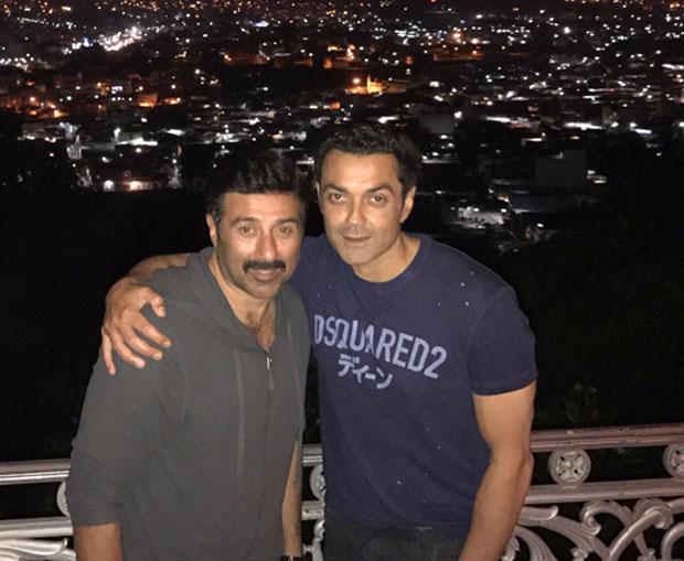 WOW! Sunny Deol joins brother Bobby Deol for Yamla Pagla Deewana Phir Se's shoot in Hyderabad
