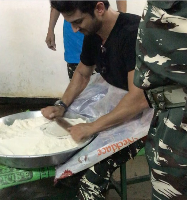 WOW! Sushant Singh Rajput makes rotis, plays cricket, shoots accurately at CRPF camp