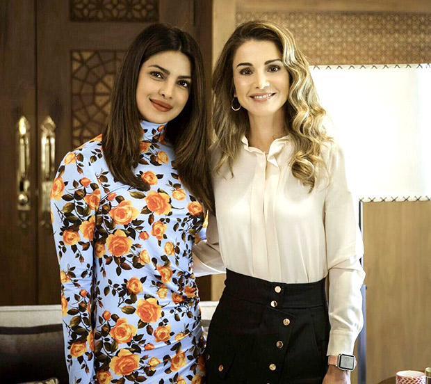 Check out Priyanka Chopra meets Queen Rania; bids goodbye to Jordan after meeting Syrian refugees