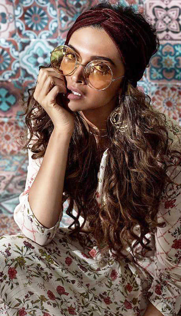 Deepika Padukone looks like a smoke storm in her latest photoshoot for her clothing line! -1