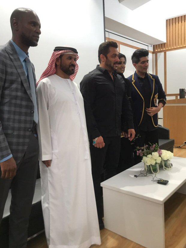 EXCLUSIVE Salman Khan inaugurates Belhasa Driving Centre in Dubai