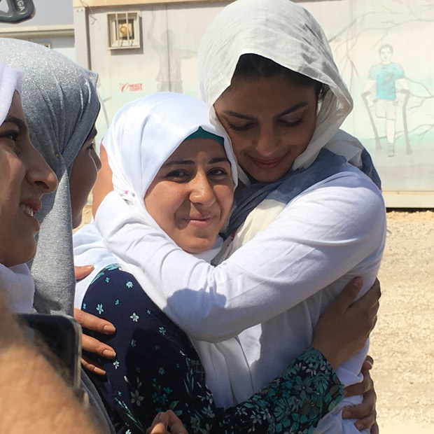 Priyanka Chopra spends quality time with Syrian kids while in Jordan