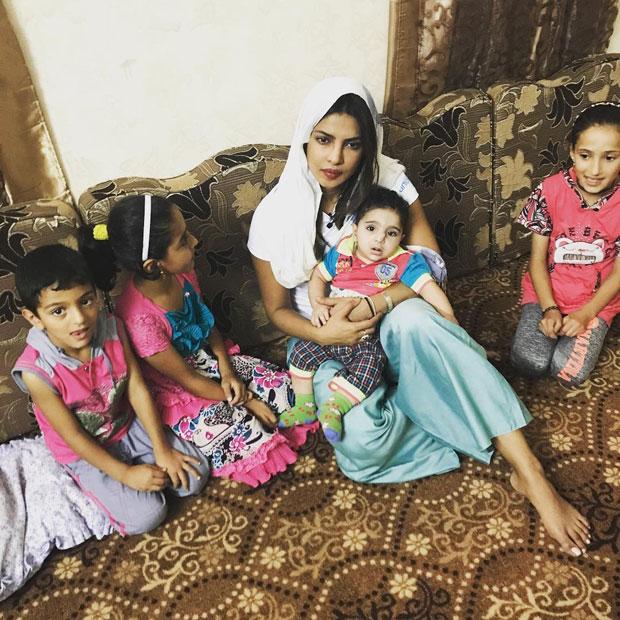 WATCH Priyanka Chopra spends quality time with Syrian kids while in Jordan