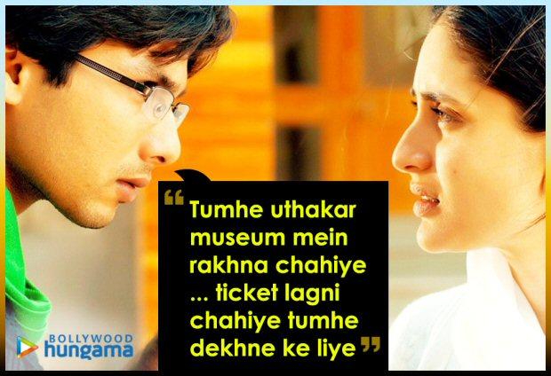 #10yearsofjabwemet 10 Best dialogues from the Shahid Kapoor – Kareena Kapoor Khan starrer (8)