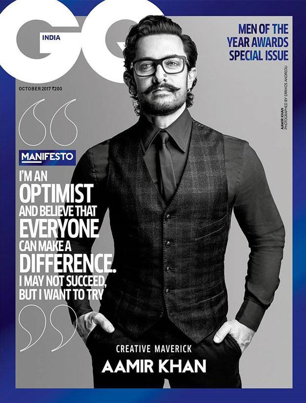 Aamir Khan looks suave and dapper on GQ magazine