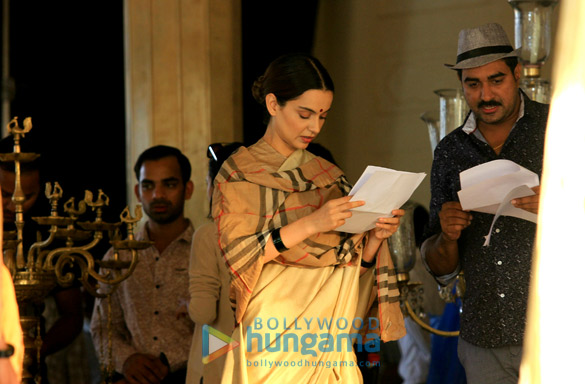 Check out Kangana Ranaut shoots for Manikarnika The Queen of Jhansi in Jaipur1