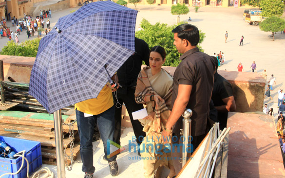 Check out Kangana Ranaut shoots for Manikarnika The Queen of Jhansi in Jaipur3