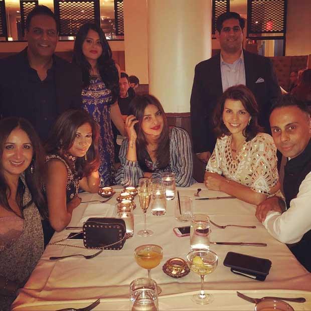 Check out Priyanka Chopra dines with Quantico b