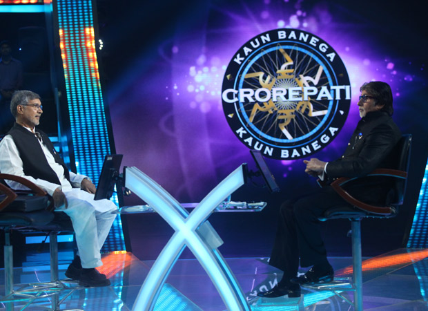 EXCLUSIVE Amitabh Bachchan and Nobel peace prize winner Kailash Satyarthi first time on Indian TV on KBC 9!