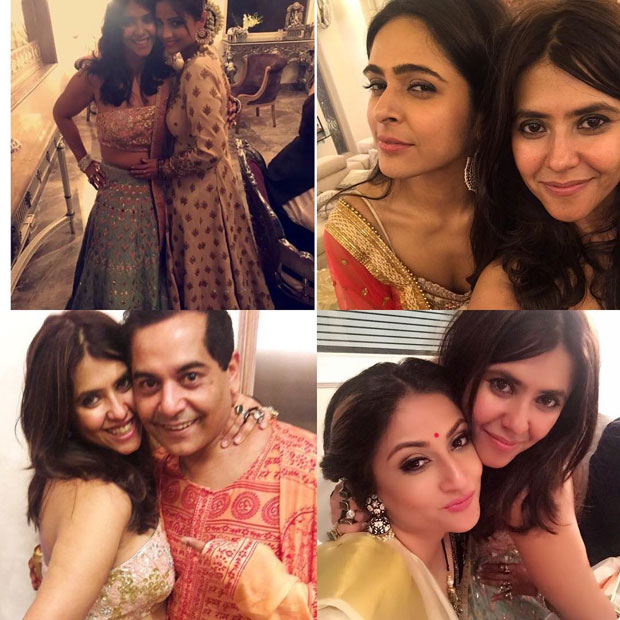 Ekta Kapoor's Diwali party 2017-10