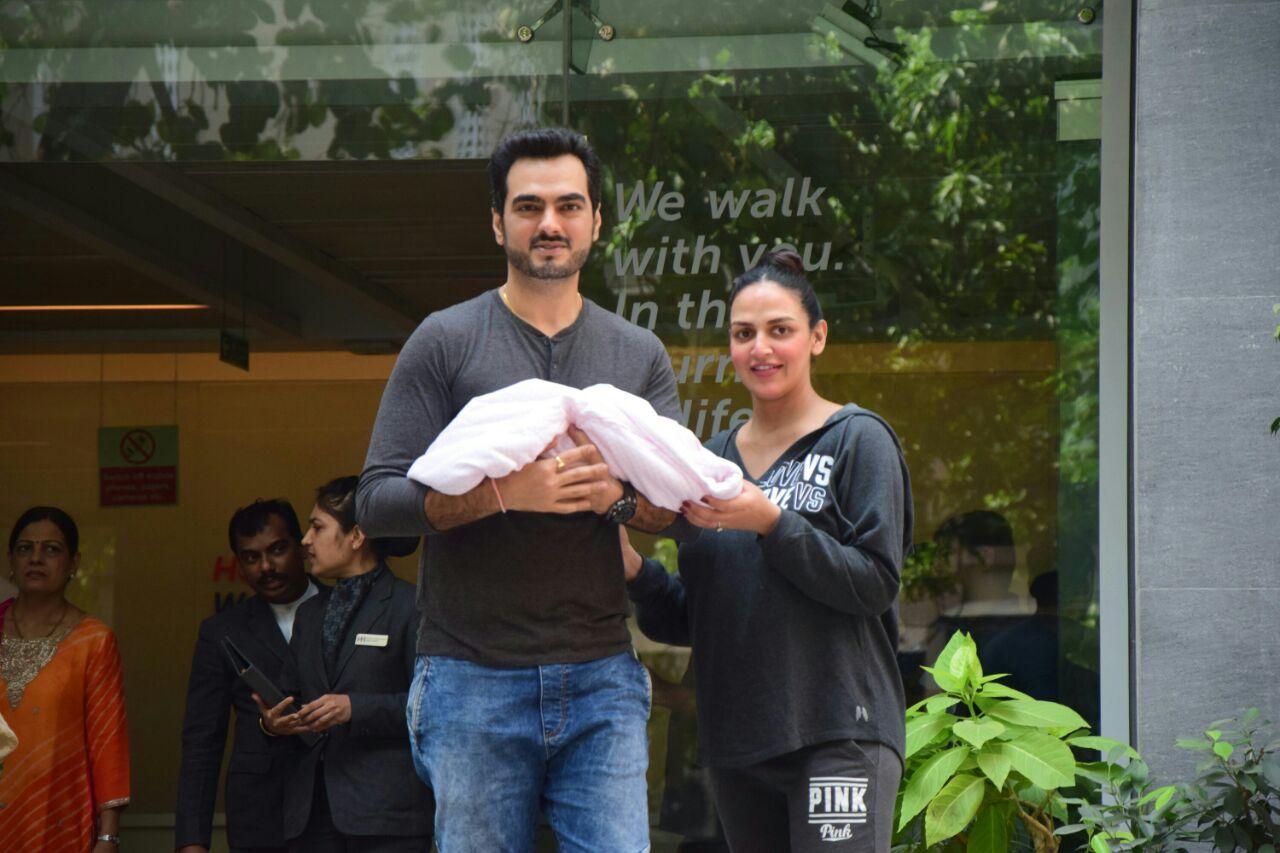 Esha Deol and husband Bharat Takhtani welcome their baby girl
