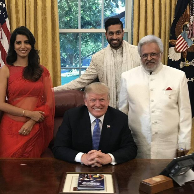 Scoop Look which Ex-Miss India recently celebrated Diwali with US President Donald Trump