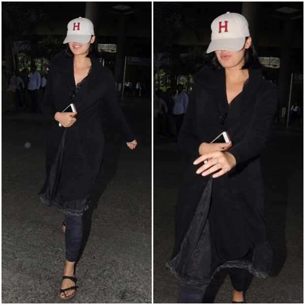 This hot diva was hiding her face from paparazzi! -1