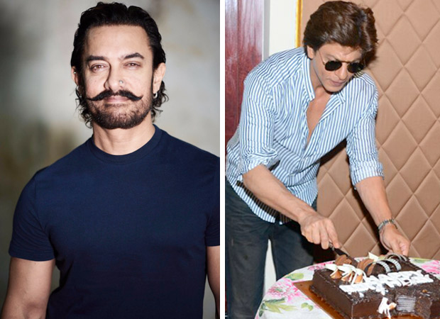 Aamir Khan wanted to join the media to celebrate Shah Rukh Khan's birthday; but the latter refused. Here's why! 001