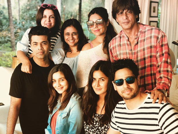 Alia Bhatt, Sidharth Malhotra, Katrina Kaif, Karan Johar and others all set to kickstart Shah Rukh Khan's birthday celebrations-1