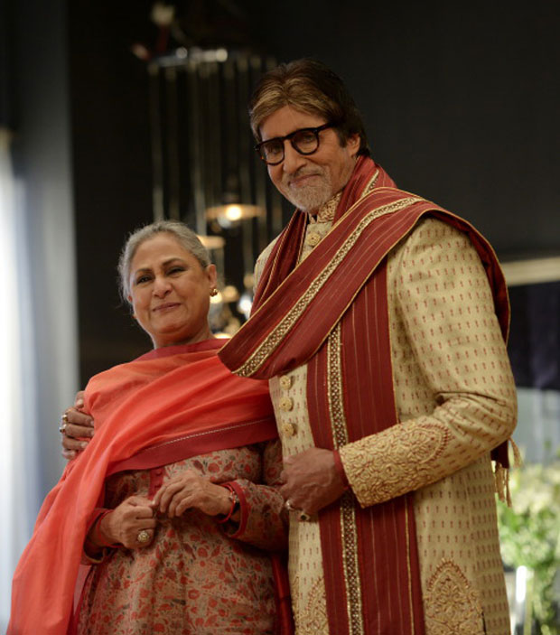 Amitabh Bachchan and Jaya Bachchan's candid moments captured during an ad shoot-1