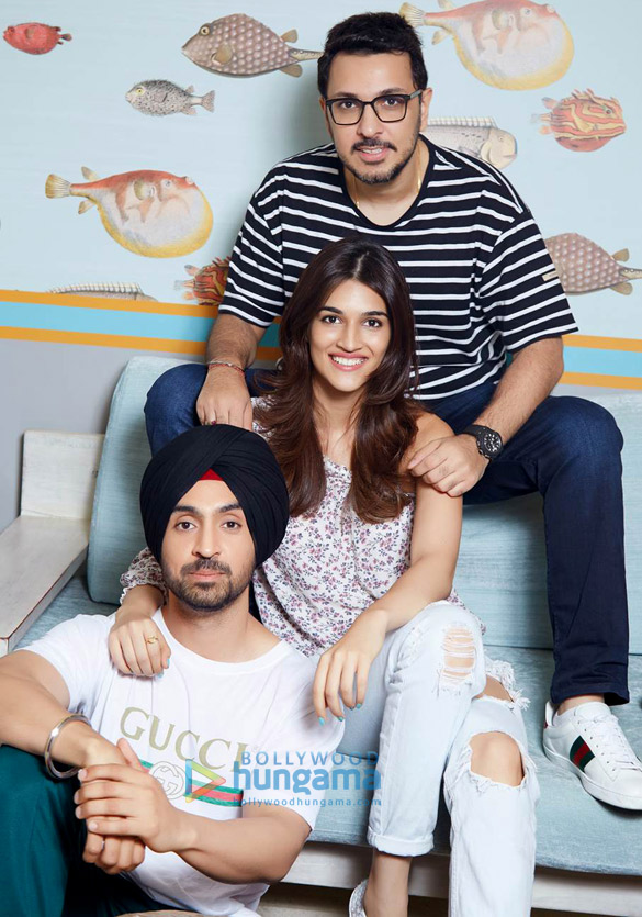 On The Sets From The Movie Arjun Patiala