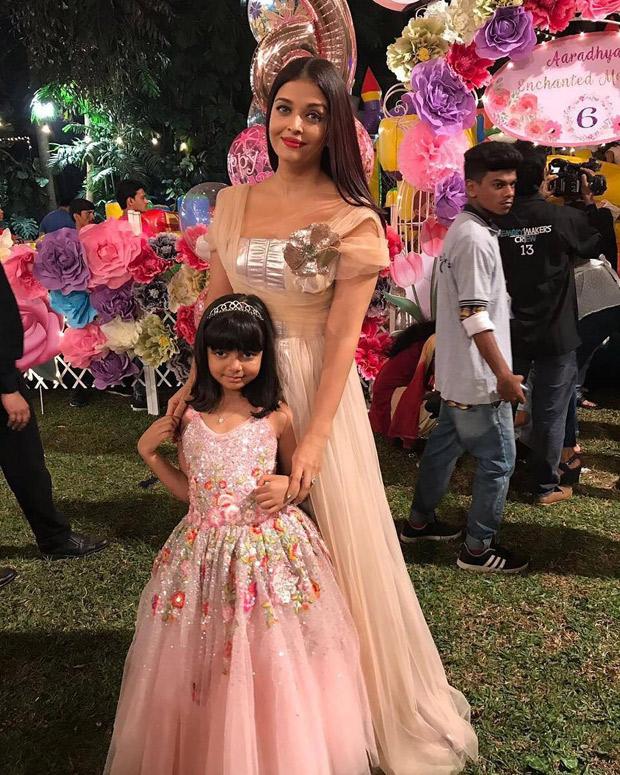 Check out Aishwarya Rai Bachchan and Abhishek Bachchan celebrate Aaradhya Bachchan's 6th birthday with a grand bash! (3)