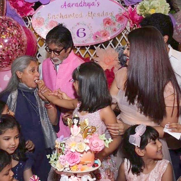 Check out Aishwarya Rai Bachchan and Abhishek Bachchan celebrate Aaradhya Bachchan's 6th birthday with a grand bash! (5)