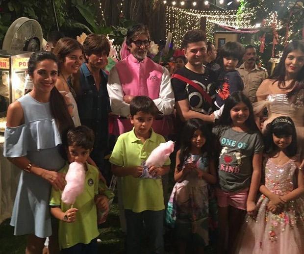 Check out Aishwarya Rai Bachchan and Abhishek Bachchan celebrate Aaradhya Bachchan's 6th birthday with a grand bash! (7)