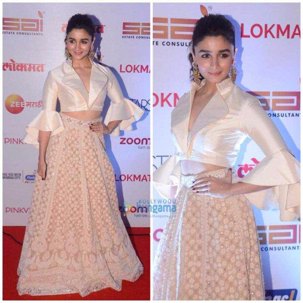 Check out Alia Bhatt and Sidharth Malhotra share a sweet hug at Lokmat Awards (2)