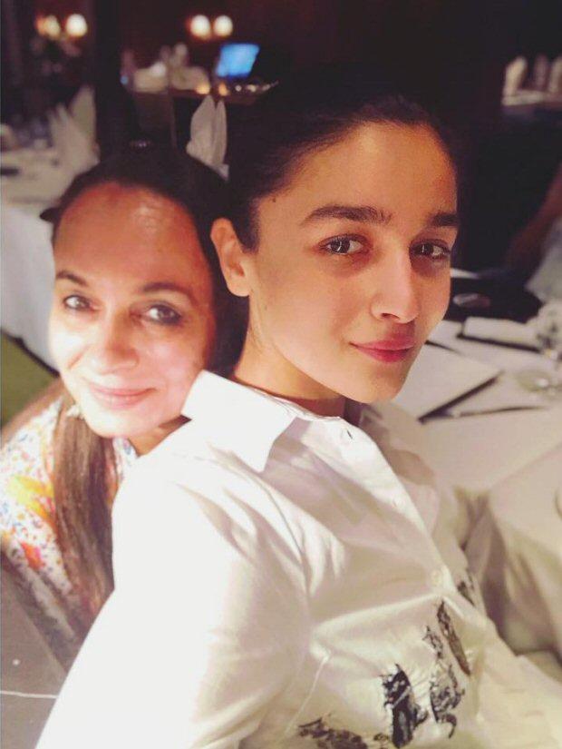 Check out Alia Bhatt takes mom Soni Razdan out for dinner