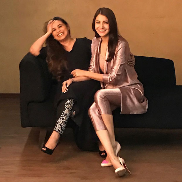 Check out Anushka Sharma and Rani Mukerji can't stop laughing in this candid moment during a shoot!